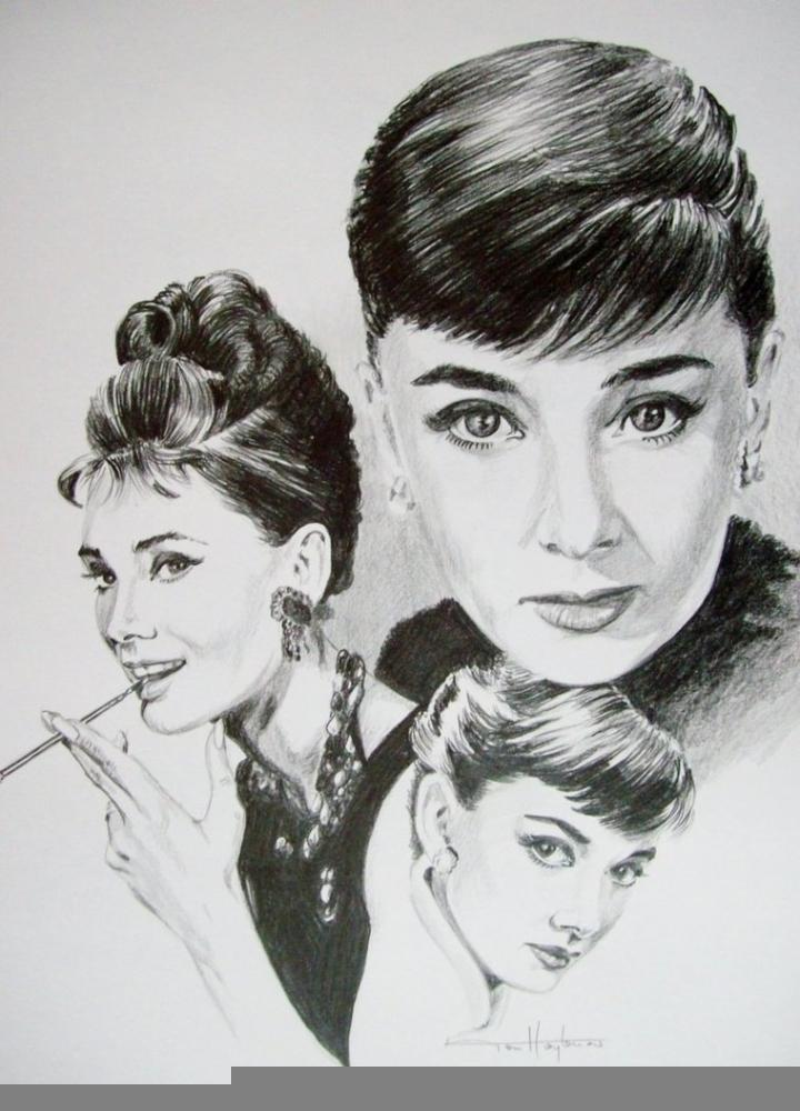 Audrey Hepburn by Tom-Heyburn